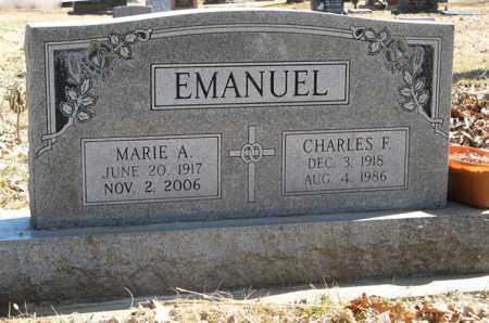 EMANUEL, CHARLES F. - Dodge County, Nebraska | CHARLES F. EMANUEL - Nebraska Gravestone Photos