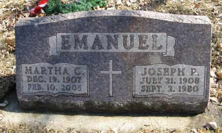 EMANUEL, MARTHA C. - Dodge County, Nebraska | MARTHA C. EMANUEL - Nebraska Gravestone Photos