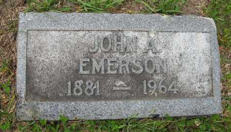 EMERSON, JOHN A. - Dodge County, Nebraska   JOHN A. EMERSON - Nebraska Gravestone Photos
