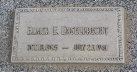 ENGELBRECHT, ELMER E. - Dodge County, Nebraska   ELMER E. ENGELBRECHT - Nebraska Gravestone Photos