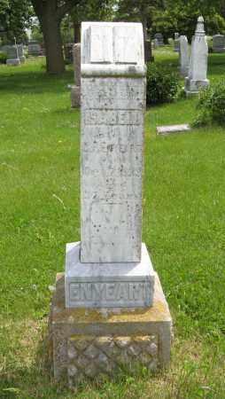 ENYEART, ISABELL - Dodge County, Nebraska | ISABELL ENYEART - Nebraska Gravestone Photos
