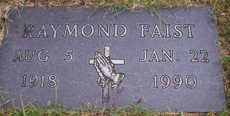 FAIST, RAYMOND - Dodge County, Nebraska | RAYMOND FAIST - Nebraska Gravestone Photos