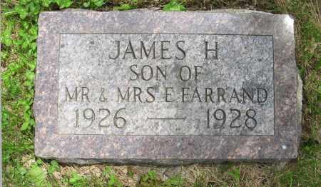 FARRAND, JAMES H. - Dodge County, Nebraska | JAMES H. FARRAND - Nebraska Gravestone Photos