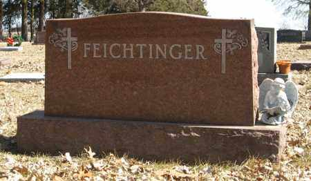 FEICHTINGER, (FAMILY MONUMENT) - Dodge County, Nebraska | (FAMILY MONUMENT) FEICHTINGER - Nebraska Gravestone Photos
