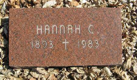 FEICHTINGER, HANNAH C. - Dodge County, Nebraska | HANNAH C. FEICHTINGER - Nebraska Gravestone Photos