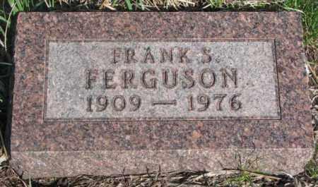FERGUSON, FRANK S. - Dodge County, Nebraska | FRANK S. FERGUSON - Nebraska Gravestone Photos