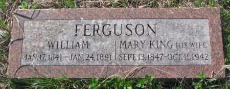 KING FERGUSON, MARY - Dodge County, Nebraska | MARY KING FERGUSON - Nebraska Gravestone Photos