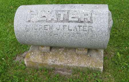 FLATER, ANDREW J. - Dodge County, Nebraska | ANDREW J. FLATER - Nebraska Gravestone Photos