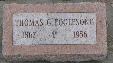 FOGLESONG, THOMAS G. - Dodge County, Nebraska | THOMAS G. FOGLESONG - Nebraska Gravestone Photos