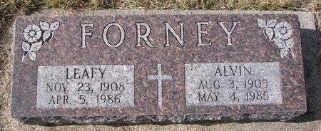 MEAD FORNEY, LEAFY - Dodge County, Nebraska | LEAFY MEAD FORNEY - Nebraska Gravestone Photos
