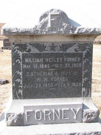 FORNEY, WILLIAM WESLEY - Dodge County, Nebraska | WILLIAM WESLEY FORNEY - Nebraska Gravestone Photos