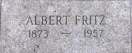 FRITZ, ALBERT - Dodge County, Nebraska | ALBERT FRITZ - Nebraska Gravestone Photos