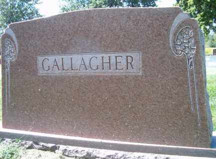 GALLAGHER, (FAMILY MONUMENT) - Dodge County, Nebraska | (FAMILY MONUMENT) GALLAGHER - Nebraska Gravestone Photos