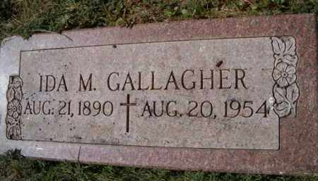 GALLAGHER, IDA M - Dodge County, Nebraska | IDA M GALLAGHER - Nebraska Gravestone Photos
