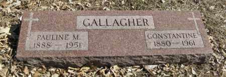 GALLAGHER, PAULINE M. - Dodge County, Nebraska | PAULINE M. GALLAGHER - Nebraska Gravestone Photos