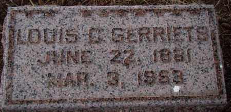 GERRIETS, LOUIS C. - Dodge County, Nebraska | LOUIS C. GERRIETS - Nebraska Gravestone Photos