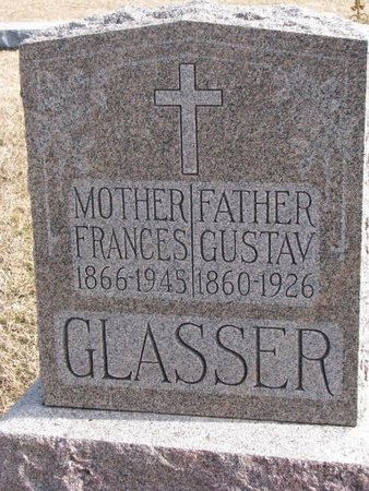GLASSER, FRANCES - Dodge County, Nebraska | FRANCES GLASSER - Nebraska Gravestone Photos