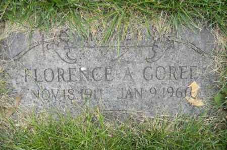 MEYER GOREE, FLORENCE - Dodge County, Nebraska | FLORENCE MEYER GOREE - Nebraska Gravestone Photos