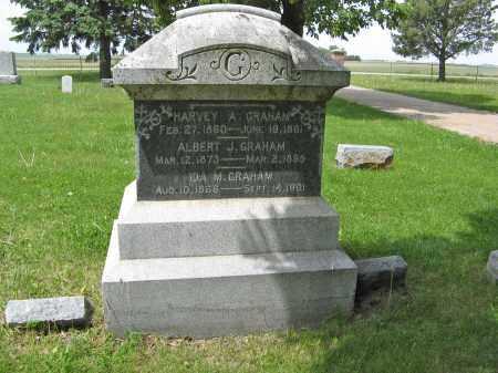 GRAHAM, HARVEY A. - Dodge County, Nebraska   HARVEY A. GRAHAM - Nebraska Gravestone Photos