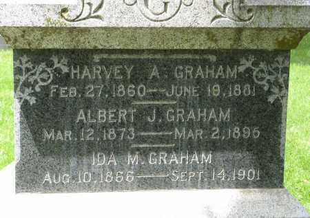 GRAHAM, HARVEY A. (CLOSE UP) - Dodge County, Nebraska | HARVEY A. (CLOSE UP) GRAHAM - Nebraska Gravestone Photos