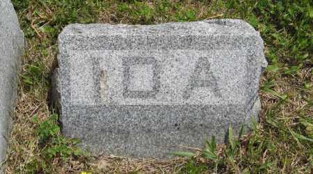 GRAHAM, IDA (SMALL STONE) - Dodge County, Nebraska | IDA (SMALL STONE) GRAHAM - Nebraska Gravestone Photos