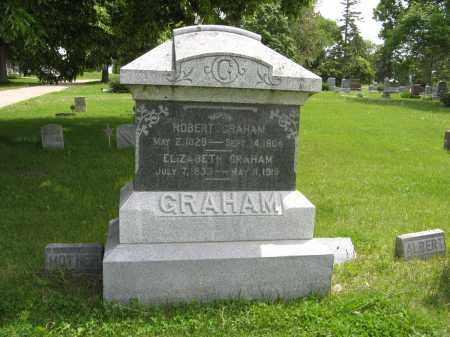 GRAHAM, ELIZABETH - Dodge County, Nebraska | ELIZABETH GRAHAM - Nebraska Gravestone Photos