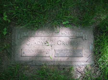 GRUBBS, GLADYS - Dodge County, Nebraska | GLADYS GRUBBS - Nebraska Gravestone Photos