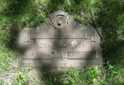 GRUBBS, ROSA M. - Dodge County, Nebraska | ROSA M. GRUBBS - Nebraska Gravestone Photos