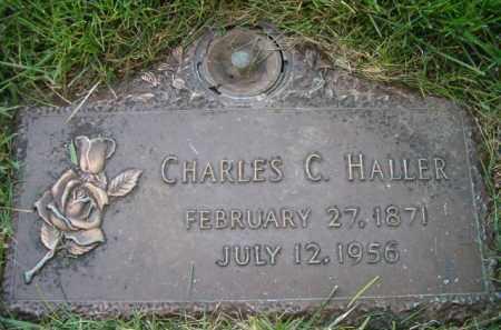 HALLER, CHARLES C - Dodge County, Nebraska   CHARLES C HALLER - Nebraska Gravestone Photos
