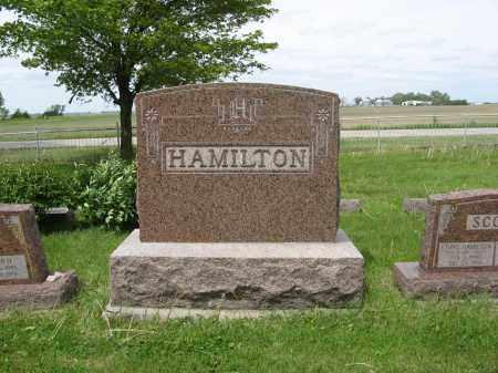 HAMILTON, (FAMILY MONUMENT) - Dodge County, Nebraska | (FAMILY MONUMENT) HAMILTON - Nebraska Gravestone Photos
