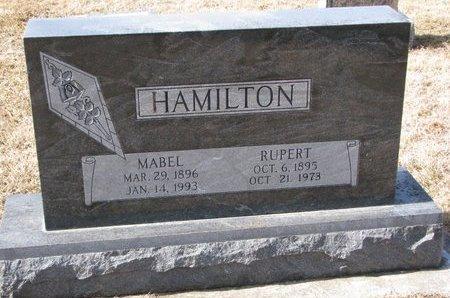 HAMILTON, MABEL - Dodge County, Nebraska | MABEL HAMILTON - Nebraska Gravestone Photos