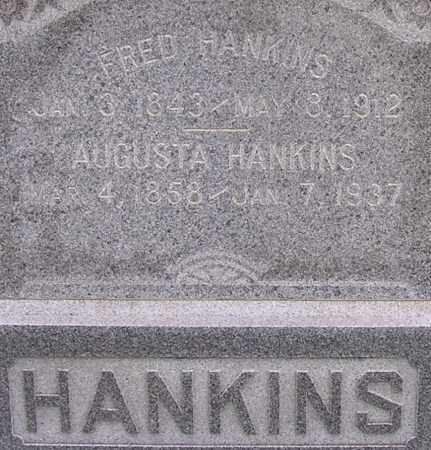 HANKINS, FRED - Dodge County, Nebraska | FRED HANKINS - Nebraska Gravestone Photos