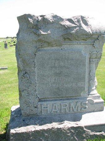 HARMS, CLAUS HENRY #1 - Dodge County, Nebraska | CLAUS HENRY #1 HARMS - Nebraska Gravestone Photos