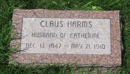 HARMS, CLAUS HENRY #2 - Dodge County, Nebraska | CLAUS HENRY #2 HARMS - Nebraska Gravestone Photos