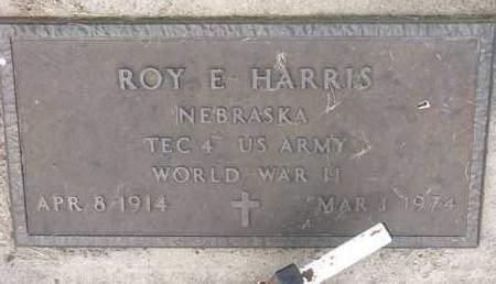 HARRIS, ROY E. - Dodge County, Nebraska | ROY E. HARRIS - Nebraska Gravestone Photos
