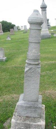 HARMS, EDWIN RUDOLPH - Dodge County, Nebraska | EDWIN RUDOLPH HARMS - Nebraska Gravestone Photos