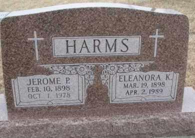 HARMS, ELEANORA K. - Dodge County, Nebraska | ELEANORA K. HARMS - Nebraska Gravestone Photos
