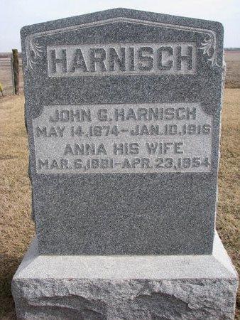 HARNISCH, ANNA - Dodge County, Nebraska | ANNA HARNISCH - Nebraska Gravestone Photos