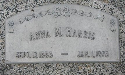 HARRIS, ANNA M. - Dodge County, Nebraska | ANNA M. HARRIS - Nebraska Gravestone Photos
