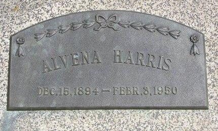 HARRIS, ALVENA S. - Dodge County, Nebraska | ALVENA S. HARRIS - Nebraska Gravestone Photos