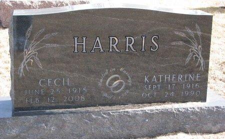 HARRIS, KATHERINE MARGARET - Dodge County, Nebraska | KATHERINE MARGARET HARRIS - Nebraska Gravestone Photos