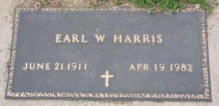HARRIS, EARL W. - Dodge County, Nebraska | EARL W. HARRIS - Nebraska Gravestone Photos