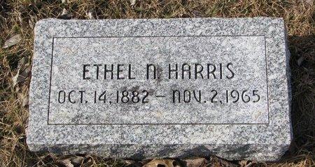 HARRIS, ETHEL N. - Dodge County, Nebraska | ETHEL N. HARRIS - Nebraska Gravestone Photos