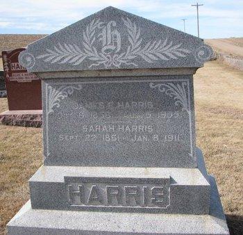 HARRIS, SARAH - Dodge County, Nebraska | SARAH HARRIS - Nebraska Gravestone Photos