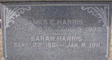 HARRIS, JAMES E. (CLOSE UP) - Dodge County, Nebraska | JAMES E. (CLOSE UP) HARRIS - Nebraska Gravestone Photos