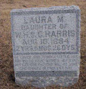 HARRIS, LAURA M. - Dodge County, Nebraska | LAURA M. HARRIS - Nebraska Gravestone Photos