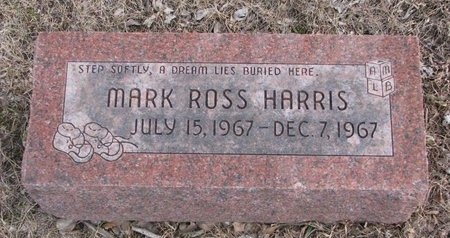 HARRIS, MARK ROSS - Dodge County, Nebraska | MARK ROSS HARRIS - Nebraska Gravestone Photos
