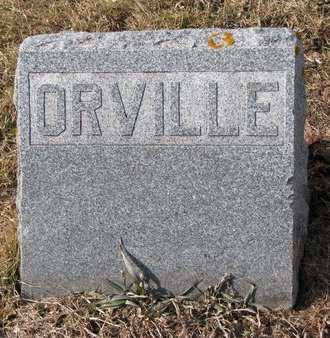 HARRIS, ORVILLE A. (FOOTSTONE) - Dodge County, Nebraska   ORVILLE A. (FOOTSTONE) HARRIS - Nebraska Gravestone Photos
