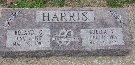 HARRIS, ROLAND G. - Dodge County, Nebraska | ROLAND G. HARRIS - Nebraska Gravestone Photos