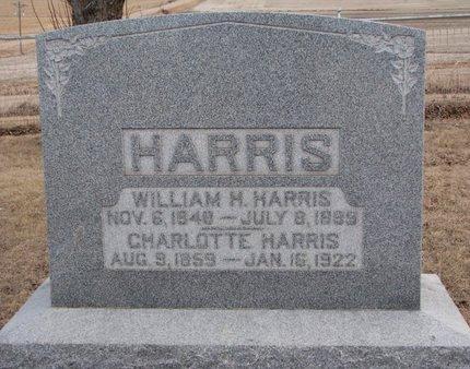 HARRIS, WILLIAM H. - Dodge County, Nebraska | WILLIAM H. HARRIS - Nebraska Gravestone Photos